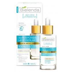 Bielenda Skin Clinic Professional Aktywne serum nawilżające dla każdego rodzaju cery dzień/noc 30ml