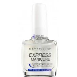 Maybelline Express Manicure Top Coat zabezpieczający lakier 10ml