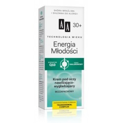 AA Technology Age 30+ Energy Of Youth Eye Cream Nawilżająco-wygładzający krem pod oczy 50ml