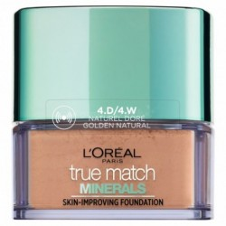 L`Oreal True Match Minerals Skin-Improving Foundation Puder mineralny Golden Natural 10g