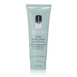Clinique 7 Day Scrub Cream Rinse-Off Formula Rozpuszczalny w wodzie krem-peeling 100ml