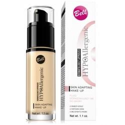 Bell HypoAllergenic Skin Adapting Make-Up Hypoalergiczny fluid dopasowujący się do skóry 01 Ivory 30g