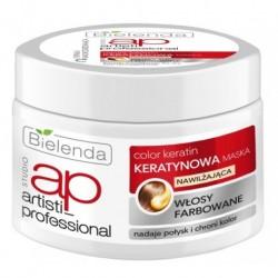 Bielenda Artisti Professional Color Keratin Keratynowa maska do włosów farbowanych 200ml