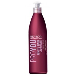 Revlon Professional ProYou White Hair Neutralizing Pigment Szampon do włosów blond 350ml