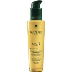 Rene Furterer Karite Hydra Hydrating Shine Day Cream Krem nawilżająco-nabłyszczający na dzień do włosów suchych 100ml