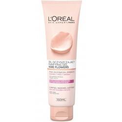 L`Oreal Skin Expert Rare Flowers Żel oczyszczajacy skóra sucha i wrażliwa 150ml