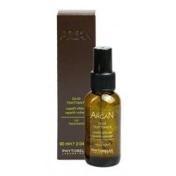 Phytorelax Olio Di Argan Oil Treatment Odżywczy olej arganowy do włosów zniszczonych i farbowanych 60ml