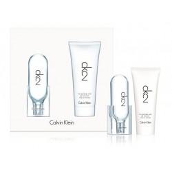 Calvin Klein CK 2 Woda toaletowa 50ml spray + Żel do ciała i włosów 100ml