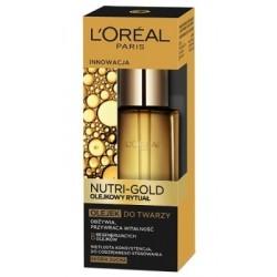L`Oreal Nutri Gold Olejkowy Rytuał Olejek do twarzy do skóry suchej 30ml