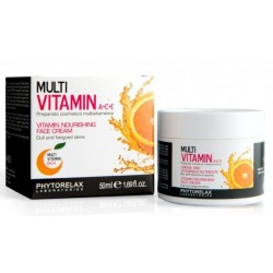 Phytorelax Multi Vitamin A+C+E Vitamin Nourishing Face Cream Krem odżywczy multiwitaminowy do twarzy 50ml