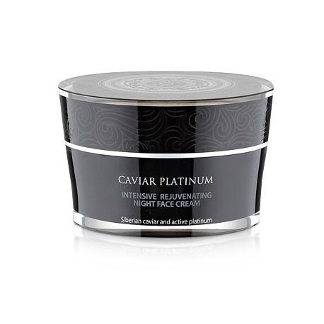 Siberica Professional Caviar Platinum Intensywnie odmładzający krem do twarzy na noc 50ml
