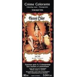 NJD Henna w płynie do farbowania włosów kolor Noir Czarny 90ml