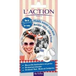 L`Action Pearl Radiant Glow Mask Maseczka liftingująco - rozświetlająca do twarzy 6g