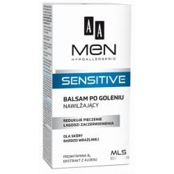 AA Men Sensitive After-Shave Balm Nawilżający balsam po goleniu do skóry bardzo wrażliwej 100ml