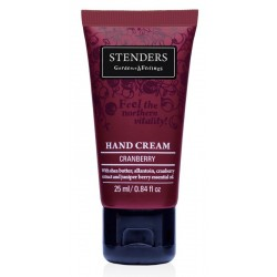 Stenders Hand Cream Krem do rąk Cranberry Żurawina 25ml