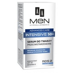AA Men Advanced Care Face Serum Intensive 50+ Przeciwstarzeniowe serum do twarzy 50ml