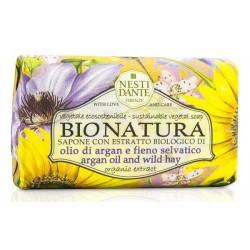 Nesti Dante Bio Natura Argan Oil And Wild Hay Mydło toaletowe 250g