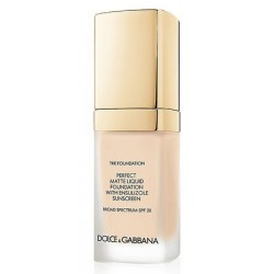 Dolce & Gabbana The Foundation Perfect Matte Liquid Foundation SPF20 Podkład matujący 80 Creamy 30ml