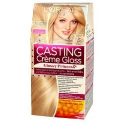 L`Oreal Casting Creme Gloss Farba do włosów 1021 Jasny Perłowy Blond