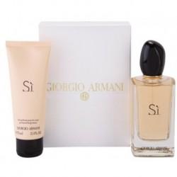 Giorgio Armani Si Woda perfumowana 100ml spray + Balsam do ciała 75ml
