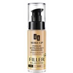 AA Make Up Filler Wrinkle Decrease Foundation Pro Age System Podkład wypełniający zmarszczki 105 Sand 30ml