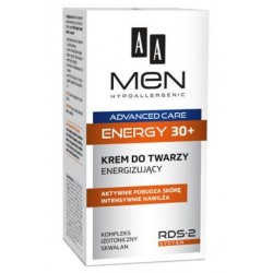 AA Men Advanced Care Face Cream Energy 30+ Energizujacy krem do twarzy 50ml