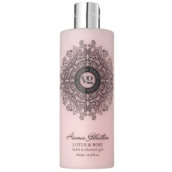 Vivian Gray Aroma Selection Bath & Shower Gel Żel pod prysznic i do kąpieli Lotus & Rose 500ml