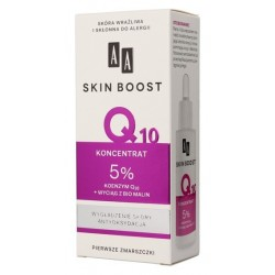 AA Skin Boost Q10 Wygładzający koncentrat do twarzy 30ml