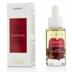 Korres Wild Rose Advanced Brightening&Nourishing Face Oil Aktywny olejek z ekstraktem z dzikiej róży 30ml