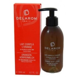 Delarom Orange Body Lotion Bottle Pomarańczowa emulsja do ciała 200ml