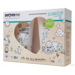 Momme Mother&Baby Natural Care Zestaw dla malucha Ziołowe masełko 150ml + Łagodny żel do mycia 2w1 150ml
