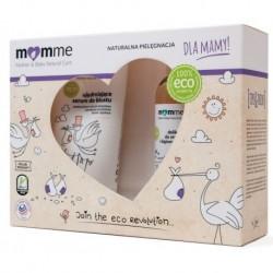 Momme Mother&Baby Natural Care Zestaw dla mamy Serum do biustu 150ml + Żel do mycia ciała i higieny intymnej 150ml