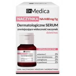 Bielenda Dr Medica Naczynka Dermatologiczne serum zmniejszające widoczność naczynek dzień/noc 30ml