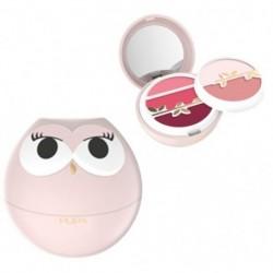 Pupa Owl 1 Paleta do makijażu ust 001 Pink Shades 3,9g