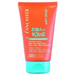 Lancaster Sun For Kids Comfort Cream Wet Skin Application Anti-Sand Water Resistant SPF50 Ochronny krem dla dzieci 125ml
