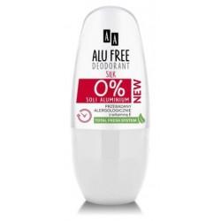 AA Alu Free Silk Dezodorant 50ml w kulce