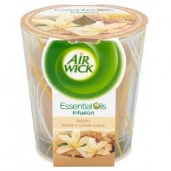 Air Wick Essential Oils Infusion Świeca zapachowa Wanilia 105g
