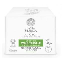 Siberica Professional Wild Thistle Repairing Natural Hair Mask Regenerująca maska do włosów 120ml