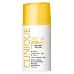 Clinique Sun Mineral Sunscreen Fluid For Face SPF50 Emulsja do opalania twarzy 30ml