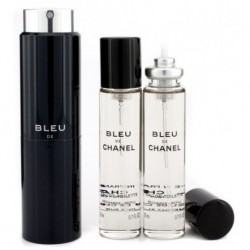 Chanel Bleu Woda toaletowa 20ml spray + 2 x 20ml wkłady spray