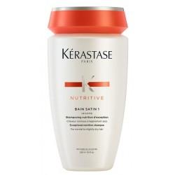 Kerastase Nutritive Bain Satin 1 Exceptional Nutrition Shampoo Kąpiel odżywcza do włosów normalnych lub lekko suchych 250ml