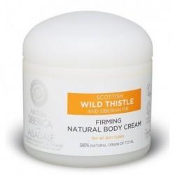 Siberica Professional Wild Thistle Modelling Natural Body Cream Ujędrniający krem do ciała 370ml