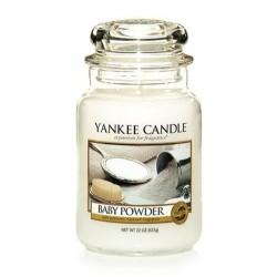 Yankee Candle Large Jar Duża świeczka zapachowa Baby Powder 623g