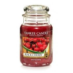 Yankee Candle Large Jar Duża świeczka zapachowa Black Cherry 623g