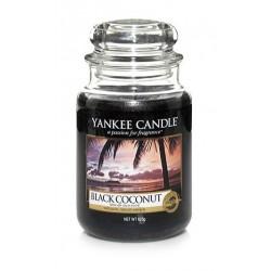 Yankee Candle Large Jar Duża świeczka zapachowa Black Coconut 623g