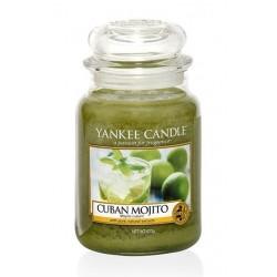 Yankee Candle Large Jar Duża świeczka zapachowa Cuban Mojito 623g