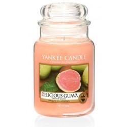 Yankee Candle Large Jar Duża świeczka zapachowa Delicious Guava 623g