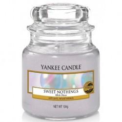 Yankee Candle Small Jar Mała świeczka zapachowa Sweet Nothings 104g