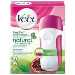 Veet Natural Inspirations Easy Wax Elektryczny system do depilacji ciepłym woskiem 50ml