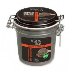 Organic Shop Organic Black Cumin & Orange Body Exfoliator Peeling do ciała 350ml